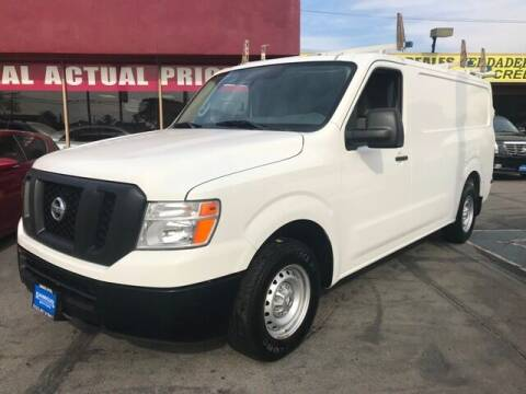 2014 Nissan NV Cargo for sale at Sanmiguel Motors in South Gate CA