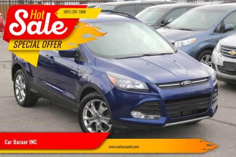 2014 Ford Escape for sale at Car Bazaar INC in Salt Lake City UT
