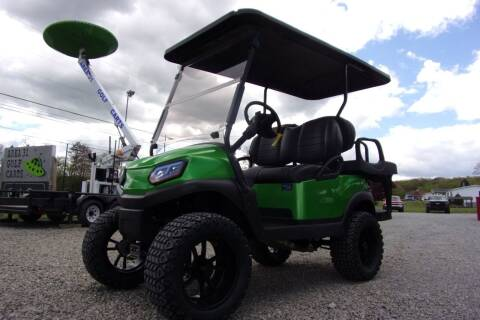 2019 Club  Car Lifted Golf Cart Tempo 4 Passenger Gas EFI for sale at Area 31 Golf Carts - Gas 4 Passenger in Acme PA