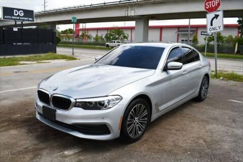 2019 BMW 5 Series for sale at AE Of Miami in Miami FL