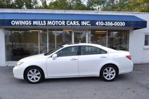 2008 Lexus ES 350 for sale at Owings Mills Motor Cars in Owings Mills MD