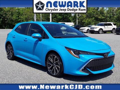 2019 Toyota Corolla Hatchback for sale at NEWARK CHRYSLER JEEP DODGE in Newark DE