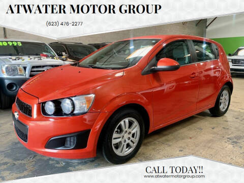 2013 Chevrolet Sonic for sale at Atwater Motor Group in Phoenix AZ