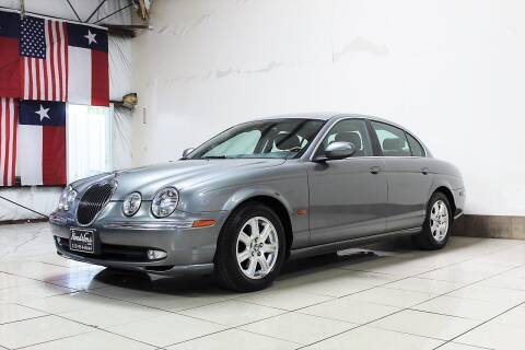 2003 Jaguar S-Type for sale at ROADSTERS AUTO in Houston TX
