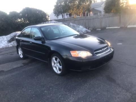 2007 Subaru Legacy for sale at Elwan Motors in West Long Branch NJ
