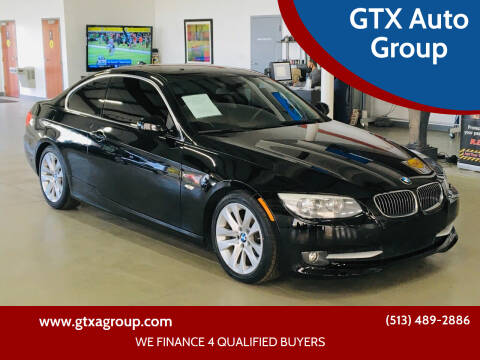 2012 BMW 3 Series for sale at GTX Auto Group in West Chester OH