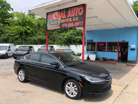 2016 Chrysler 200 for sale at Global Auto Sales and Service in Nashville TN