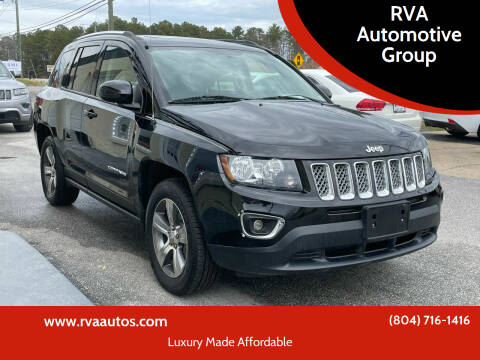 2016 Jeep Compass for sale at RVA Automotive Group in North Chesterfield VA