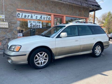 2000 Subaru Outback for sale at Clarks Auto Sales in Salt Lake City UT