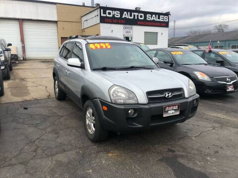 2008 Hyundai Tucson for sale at Lo's Auto Sales in Cincinnati OH