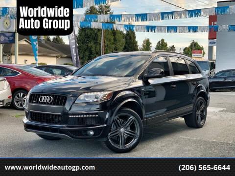 2013 Audi Q7 for sale at Worldwide Auto Group in Auburn WA