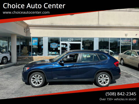2013 BMW X1 for sale at Choice Auto Center in Shrewsbury MA