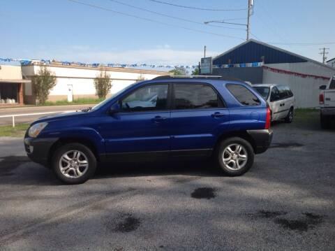 2005 Kia Sportage for sale at GIB'S AUTO SALES in Tahlequah OK