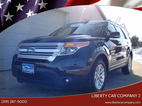 2011 Ford Explorer for sale at Liberty Car Company in Waterloo IA