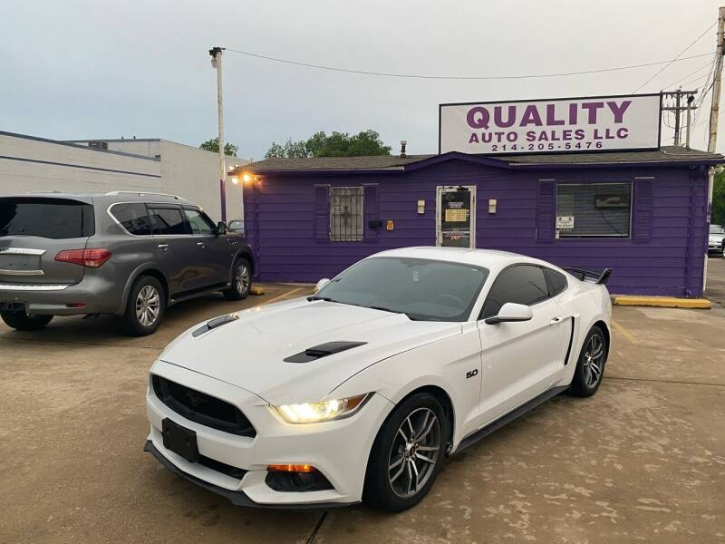 2017 Ford Mustang for sale at Quality Auto Sales LLC in Garland TX