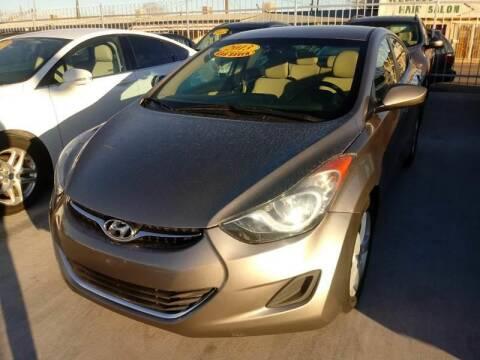 2013 Hyundai Elantra for sale at Hugo Motors INC in El Paso TX