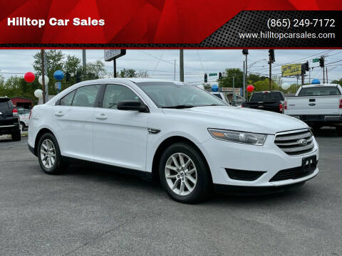 2015 Ford Taurus for sale at Hilltop Car Sales in Knox TN