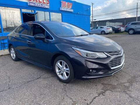 2016 Chevrolet Cruze for sale at M-97 Auto Dealer in Roseville MI