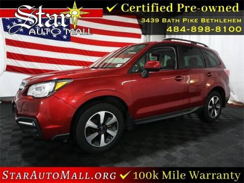 2017 Subaru Forester for sale at STAR AUTO MALL 512 in Bethlehem PA