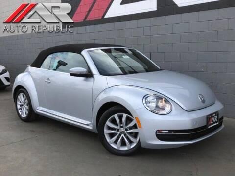 2014 Volkswagen Beetle Convertible for sale at Auto Republic Fullerton in Fullerton CA