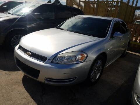 2013 Chevrolet Impala for sale at RODRIGUEZ MOTORS CO. in Houston TX
