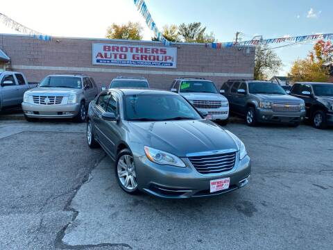 2013 Chrysler 200 for sale at Brothers Auto Group in Youngstown OH