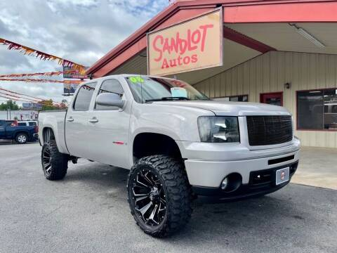 2008 GMC Sierra 1500 for sale at Sandlot Autos in Tyler TX