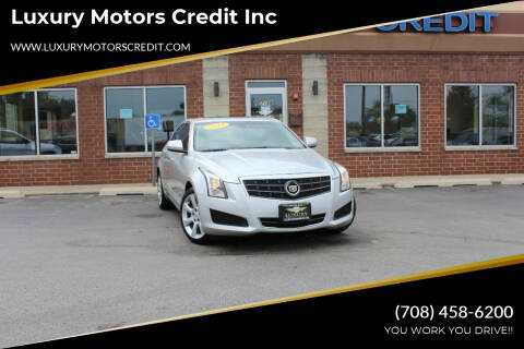 2014 Cadillac ATS for sale at Luxury Motors Credit Inc in Bridgeview IL