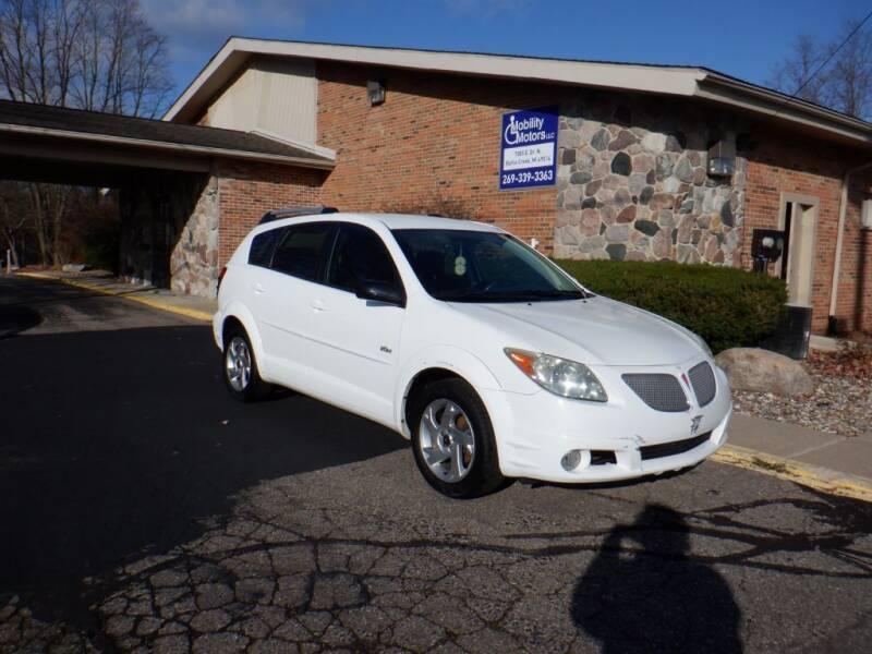 2005 Pontiac Vibe for sale at Mobility Motors LLC - Cars in Battle Creek MI