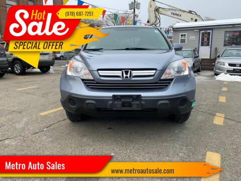 2009 Honda CR-V for sale at Metro Auto Sales in Lawrence MA