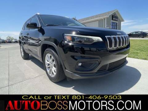 2019 Jeep Cherokee for sale at Auto Boss in Woods Cross UT