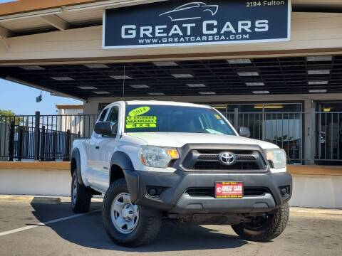 2014 Toyota Tacoma for sale at Great Cars in Sacramento CA