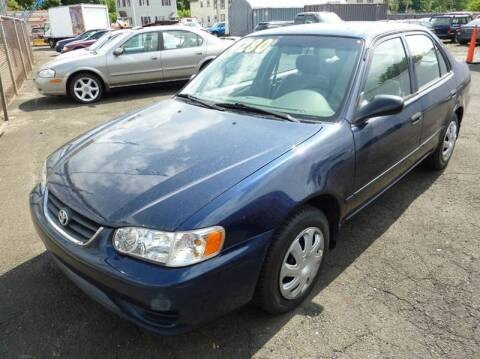 2002 Toyota Corolla for sale at Regner's Auto Sales in Danbury CT