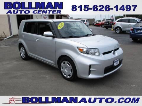 2012 Scion xB for sale at Bollman Auto Center in Rock Falls IL