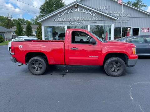 2011 GMC Sierra 1500 for sale at Empire Alliance Inc. in West Coxsackie NY