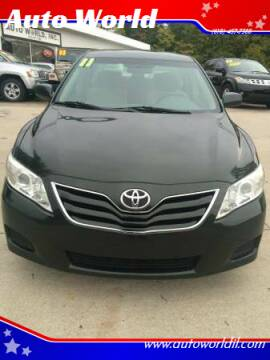 2011 Toyota Camry for sale at Auto World in Carbondale IL