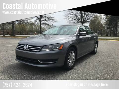 2015 Volkswagen Passat for sale at Coastal Automotive in Virginia Beach VA