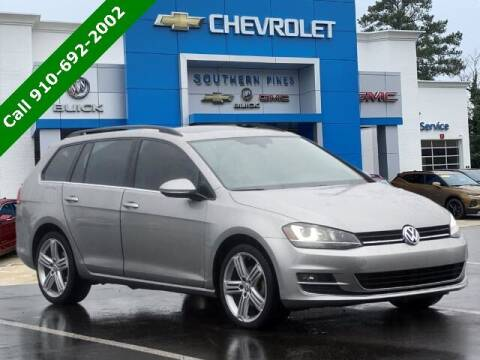 2015 Volkswagen Golf SportWagen for sale at PHIL SMITH AUTOMOTIVE GROUP - SOUTHERN PINES GM in Southern Pines NC