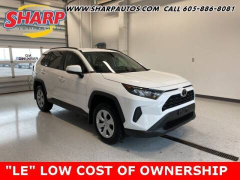 2021 Toyota RAV4 for sale at Sharp Automotive in Watertown SD