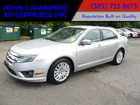 2012 Ford Fusion Hybrid for sale at John Lombardo Enterprises Inc in Rochester NY