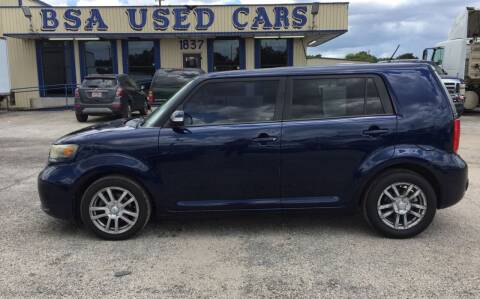 2008 Scion xB for sale at BSA Used Cars in Pasadena TX