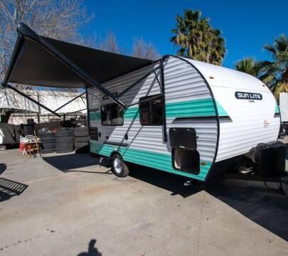 2021 Sunset Park RV Sun Lite for sale at GQC AUTO SALES in San Bernardino CA