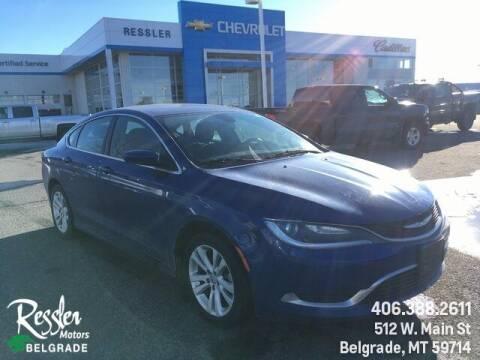 2015 Chrysler 200 for sale at Danhof Motors in Manhattan MT