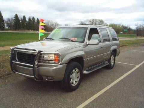 2000 Cadillac Escalade for sale at Dales Auto Sales in Hutchinson MN