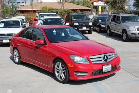 2013 Mercedes-Benz C-Class for sale at Car 1234 inc in El Cajon CA