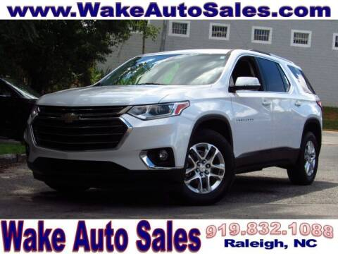 2018 Chevrolet Traverse for sale at Wake Auto Sales Inc in Raleigh NC