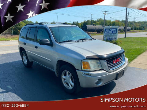 2007 GMC Envoy for sale at SIMPSON MOTORS in Youngstown OH