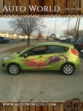 2011 Ford Fiesta for sale at Auto World in Carbondale IL