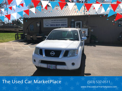 2008 Nissan Pathfinder for sale at The Used Car MarketPlace in Newberg OR
