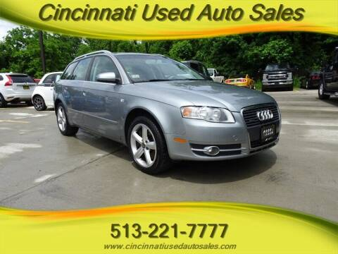 2007 Audi A4 for sale at Cincinnati Used Auto Sales in Cincinnati OH